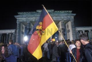 Wiedervereinigungsfeier Berlin 1990