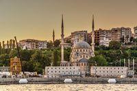 Nusretiye Mosque in Istanbul, Turkey