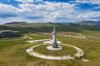 Statue of Mother and Genghis Khan