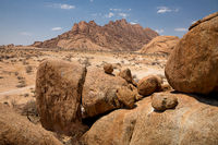 Group of bald granite peaks, Spitzkopp, Namibia