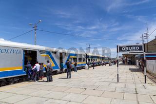 Oruro Train Station