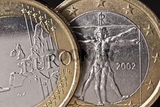 Italienische Euro Münze
