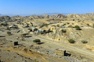 Landschaft und Siedlung im Distrikt Berhale