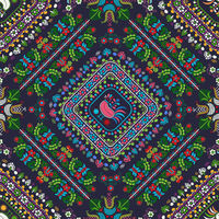 Hungarian embroidery pattern 55