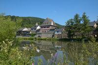 Dausenau at Lahn River,Rhineland-Palatinate,Germany