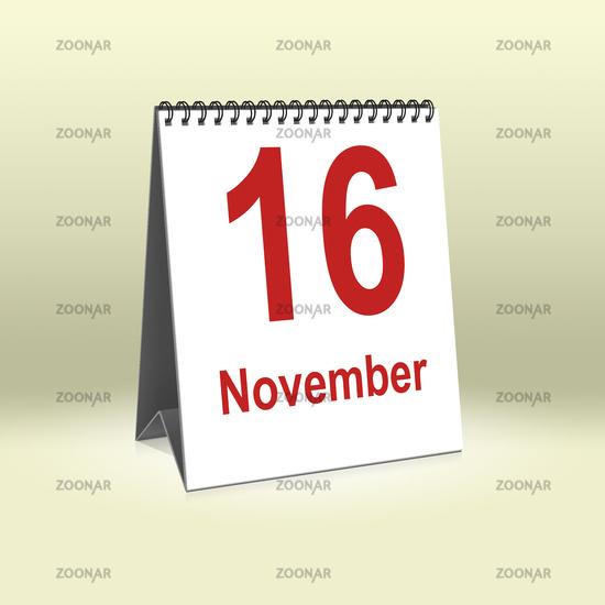 November 16th | 16.November