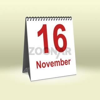 November 16th   16.November