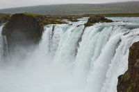 The Godafoss (Icelandic: waterfall of the gods) is a famous waterfall in Iceland.