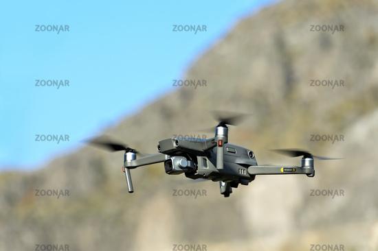 Drone Mavic 2 Pro in flight