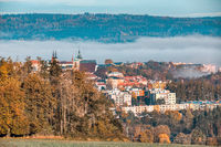 view of the city of Jihlava, Czech Republic