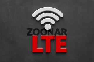 LTE Symbol - Illustration