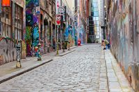 Quiet Melbourne Streets During Coronavirus Pandemic