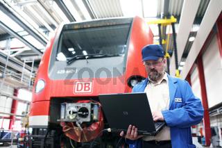 Fahrzeuginstandhaltung der Deutschen Bahn