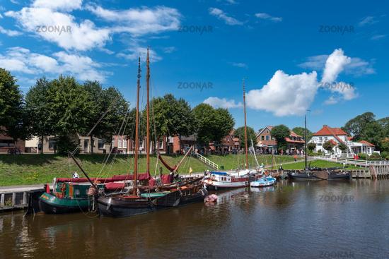 Museum harbor in Carolinensiel