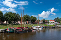 Museum harbor in Carolinensiel