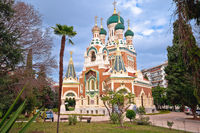 Saint Nicholas Russian Orthodox Cathedral in Nice