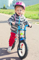 Kid with bike