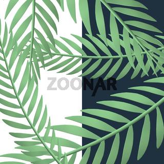 Exotic botanical design