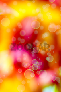 Colorful background with lensflares