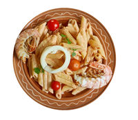 Seafood Alfredo Paella