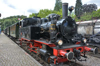 Train of the Kandertalbahn Museum Railway