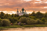 Monastery in the village of Staraya Ladoga - Leningrad region Russia