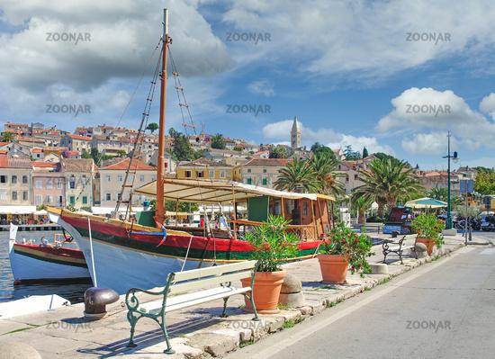 Mali Losinj on Losinj Island,adriatic Sea,Croatia