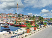 Mali Losinj on Losinj Island,adriatic Sea,Croatia