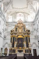 Transept in Würzburg Cathedral - St. Kiliansdom zu Würzburg
