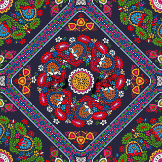 Hungarian embroidery pattern 74