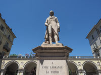Lagrange statue in Turin