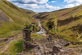 Blakethwaite Smelt Mill, North Yorkshire, England