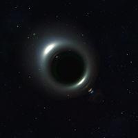 singularity in space