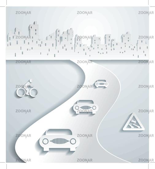 The city#39;s skyline