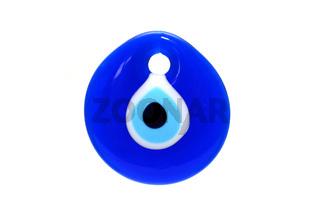 glass evil eye symbol