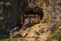 Gillheads Mine near Skyreholme, North Yorkshire, England