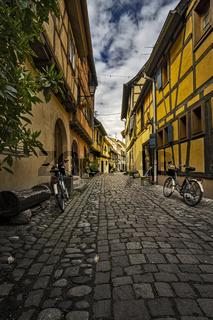 Eguisheim Narrow Street