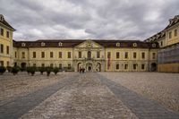old baroque castle in ludwigsburg