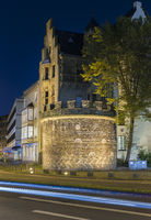 The ancient Roman tower in Cologne