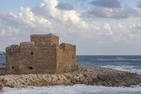 Das Kastell von Pafos, Zypern
