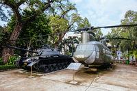 War Remnants Museum in Ho Chi Minh City Vietnam