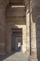 Series of antechambers leading to the inner sanctuaries of the Temple of Kom Ombo