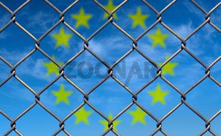 Grenzzaun Europa