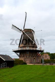 Windmühle in Hasselt Niederlande