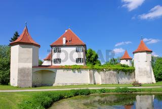 Muenchen Schloss Blutenburg - Munich palace Blutenburg 03