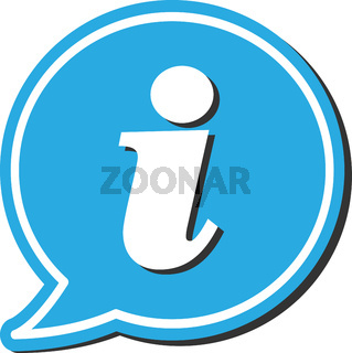 information symbol or icon