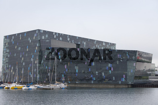 Konzertgebäude Harpa in Reykjavik, Island