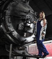 Steam locomotive sheds