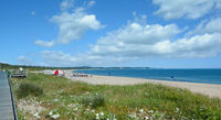 Beach of Swinoujscie,baltic Sea,Pomerania,Poland