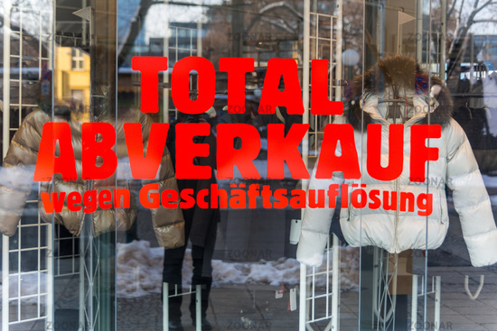 Total sales - liquidation of business